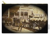 Niagra Carting Wagon Extras The Great White Hope Set Globe Arizona 1969-2014 Carry-all Pouch