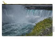 Niagra Falls In Oil Carry-all Pouch
