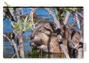 Nibbling Muskrat Carry-all Pouch
