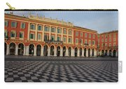 Nice France - The Cheerful Colors Of Place Massena Carry-all Pouch