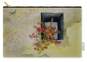 Niche With Flowers Carry-all Pouch