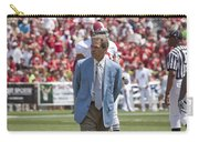 Nick Saban Head Football Coach Of Alabama Carry-all Pouch by Mountain Dreams