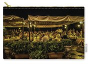 Night At The Cafe - Taormina - Italy Carry-all Pouch