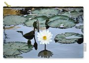 #night Blooming Water Lily Carry-all Pouch