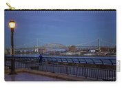 Night Falling Over The East River - Manhattan Carry-all Pouch
