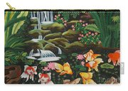 Night Fish Hand Embroidery Carry-all Pouch