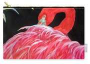 Night Flamingo Carry-all Pouch