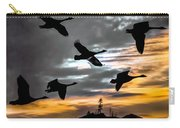 Night Flight Carry-all Pouch by Bob Orsillo