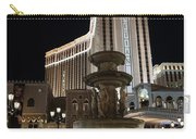 Night Glow At The Venetian Las Vegas Carry-all Pouch