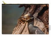 Night Heron And Crawdaddy Carry-all Pouch