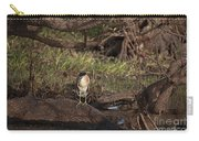 Night Heron At Corroboree Billabong Carry-all Pouch