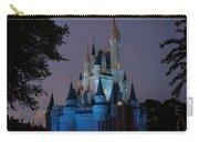 Night Illuminates Cinderella Castle Carry-all Pouch