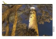 Night Lighthouse Carry-all Pouch by Debra and Dave Vanderlaan