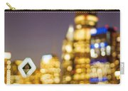Night Lights - Abstract Chicago Skyline Carry-all Pouch