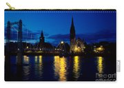 Night Lights In Inverness Carry-all Pouch