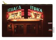 Night Lights Ithaca Theater Carry-all Pouch