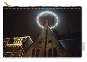 Night Lights Of Utrecht. Halo At Willibrorduskerk. Netherlands Carry-all Pouch
