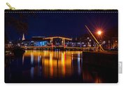 Night Lights On The Amsterdam Canals 1. Holland Carry-all Pouch