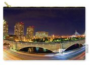 Night Moves 2-boston Carry-all Pouch by Joann Vitali