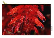 Night Of Glistening Red Salvia Carry-all Pouch