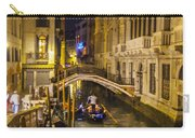 Night On The Canal - Venice - Italy Carry-all Pouch