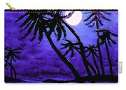 Night On The Islands Painterly Brushstrokes Carry-all Pouch