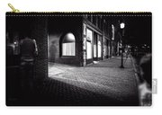 Night People Main Street Carry-all Pouch by Bob Orsillo