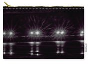 Night Pier Purple Carry-all Pouch
