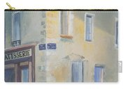 Night Scene In Arles France Carry-all Pouch