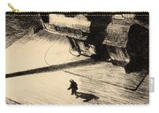 Night Shadows Carry-all Pouch by Edward Hopper