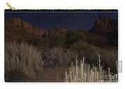 Night Sky Over Zion II Carry-all Pouch