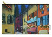 Night Street In Pula Carry-all Pouch