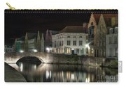 Night Time On The Canal Carry-all Pouch