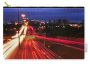 Night Traffic Carry-all Pouch by Elena Elisseeva