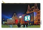 Night View Of Gum-former State Department Store-in Red Square In Moscow-russia Carry-all Pouch