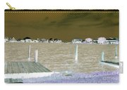 Night View Of Lafitte Bay Dauphin Island Alabama Carry-all Pouch