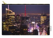 Night View Of New York Carry-all Pouch