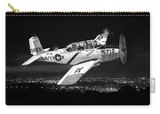 Night Vision Beechcraft T-34 Mentor Military Training Airplane Carry-all Pouch