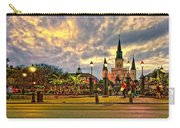 Nightfall On Jackson Square Carry-all Pouch
