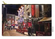 Nights In The Temple Bar Carry-all Pouch