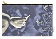 Nights In White Satin Carry-all Pouch by Absinthe Art By Michelle LeAnn Scott