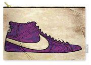 Nike Blazers Purple Carry-all Pouch by Alfie Borg