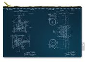 Nikola Tesla's Aerial Transport Patent 1928 Carry-all Pouch