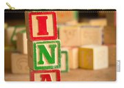 Nina - Alphabet Blocks Carry-all Pouch