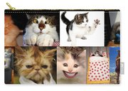 Nine Lives And Mood Swings Carry-all Pouch
