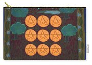 Nine Of Pentacles Carry-all Pouch