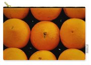 Nine Oranges Carry-all Pouch