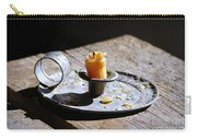 Nineteenth Century Candle And Holder Carry-all Pouch