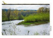 Nisqually River From The Nisqually National Wildlife Refuge Carry-all Pouch