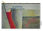 No Dumping - Drains To Ocean No 2 Carry-all Pouch